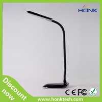 high power touch key USB table lamps for working