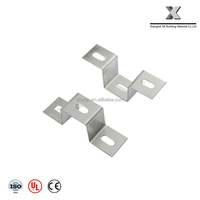 3 Hole U Shaped Connector Bracket Fitting for Strut Channel Slotted Washer B-049