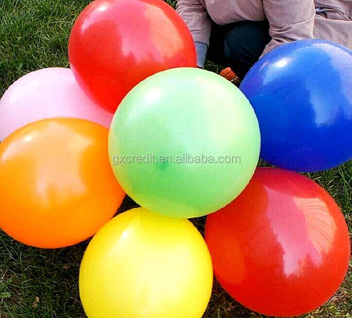 Wholesale hot selling 18 inch round shape latex helium balloon