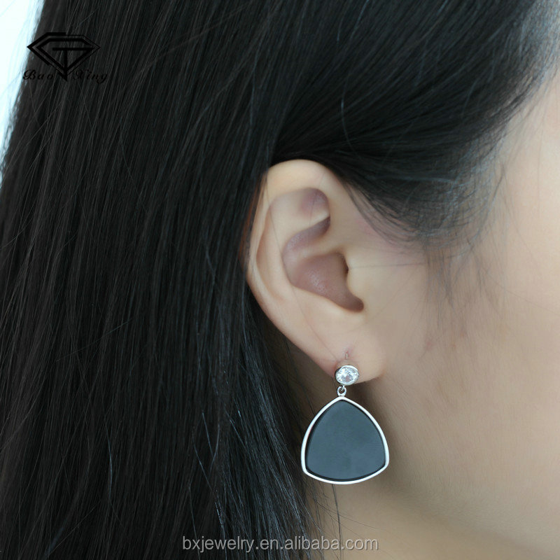 Online shop china brilliant vintage engagement simple design earrings