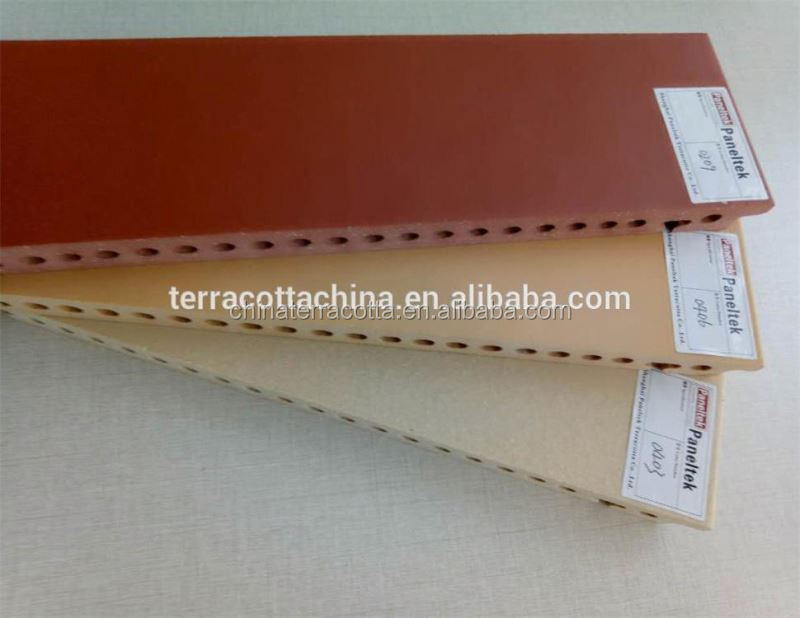external wall cladding curtain wall price terracotta facade panel