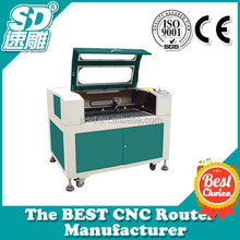 JINAN SUDIAO indonesian OEM CNC Wood Cut With 60W Laser Tube Servo Motor