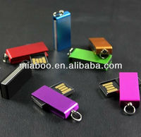 good looking colorful mini swivel usb flash drive,cheap price mini usb,promotional gift swivel usb pen drive