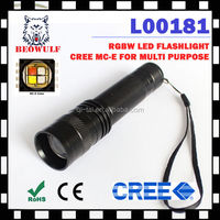 waterproof Cree MC-E led flashlight