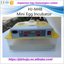 Promotional Hot Sale Automatic HJ-M48 Mini Chicken Egg Incubator