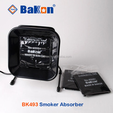 BK493 smart desktop smoke absorber saldatura fume extractor