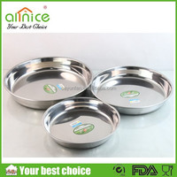Steam cheesecake cake pan/round cake pan/stainless steel round plate