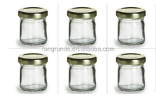 1.5 oz Mini Glass Jars for DIY Wedding jam, jelly, honey favors