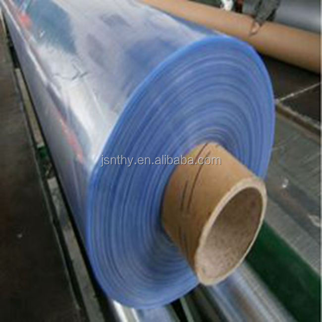 Jiangsu Factory PVC Clear Free Blue Film Hot Blue Films