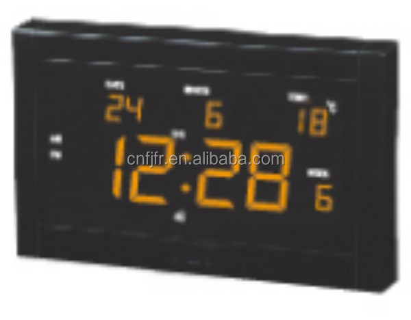 perpetual automatic day date color screen calendar wall clock