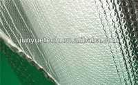 Single bubble reflective insulation building material