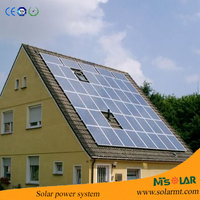 best price 15 kw solar panels for home solar system on flat roof