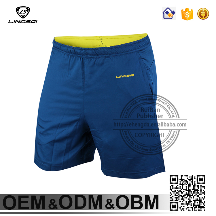 New 2016 custom Marathon SPORT football tema hot sale shorts printing bamboo basketball Sport trousers wholesale oem