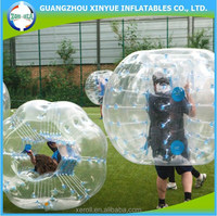 Inflatable bumper ball human sized balloon