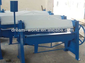 Sheet metal folding machines , manual sheet metal bending machine , hand operated bending machine