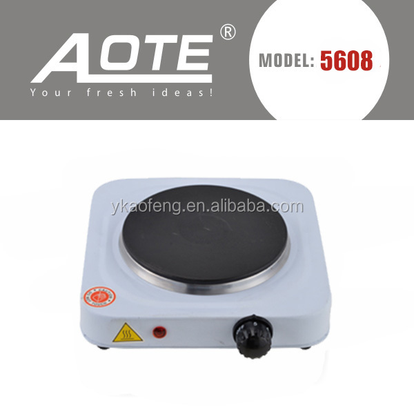 220v portable electrical hot plate 1000 w made in Zhejiang