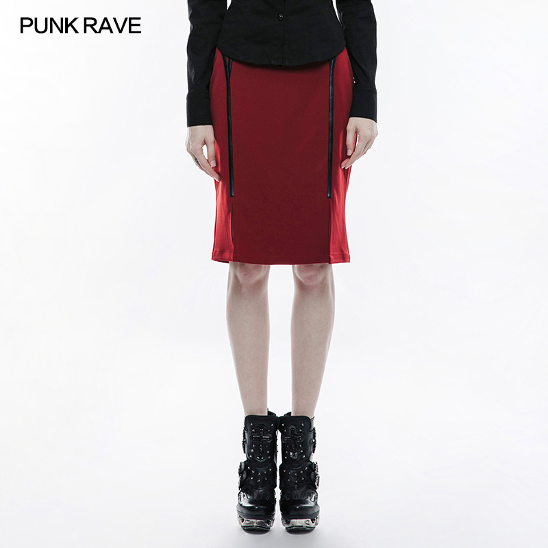 <strong>Q</strong>-342 designer girls sexy night club tight red short skirt
