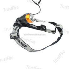 2013 Trustfire new design 3868-H6 cree xml t6 led bicycle helmet light 400lm rechargeable cree led headlamp