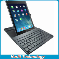Wholesale Slide Out Bluetooth Keyboard Cover Case For iPad Air 2 Swivel Hard Case Case Keyboard Bluetooth For iPad Air2