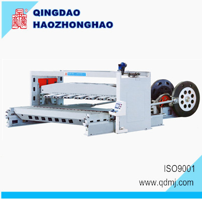 Horizontal Wood Slicing 4*8 Engineer Wood Block veneer slicer machine