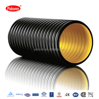 HDPE Pipe Large Diameter Corrugated Drainage Pipe