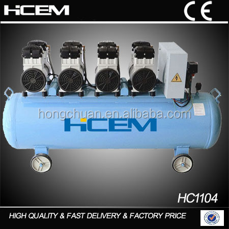 China Factory high pressure car portable silent air compressor drilling machine