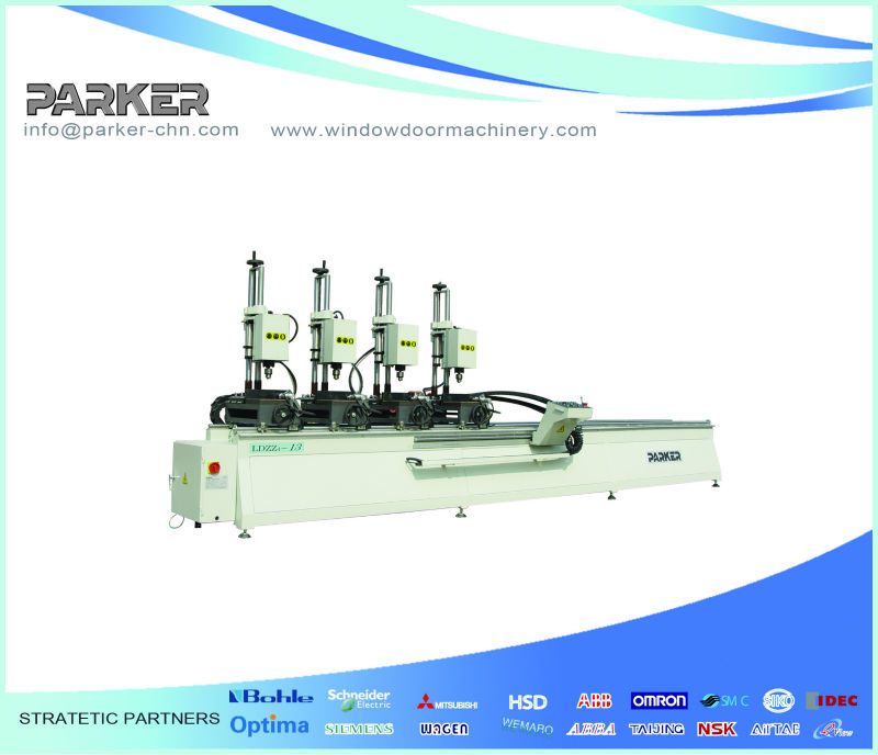 multi head drilling machineAlu-alloy Any Head Combined Boring Machine
