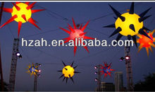 New Year Decoration Inflatable Lighted Stars
