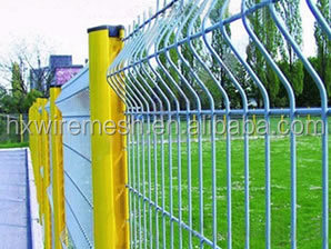 GI welded wire mesh fence