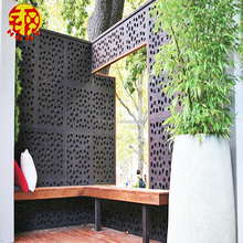 decorative outdoor partition panels laser cut garden screens room dividers