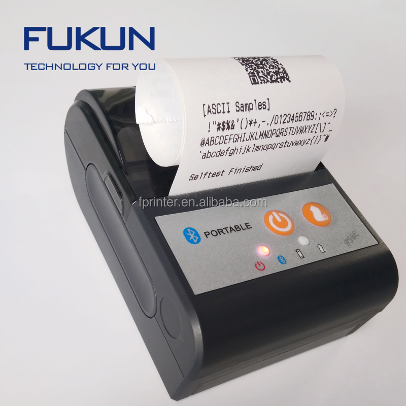 handheld thermal printer Type thermal sticker printer support bluetooth
