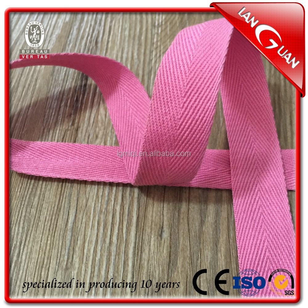 China Factory Cheap Customized Cotton Tape cotton satin