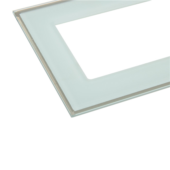 OEM And ODM Art Switch Glass Frame Wall Plates