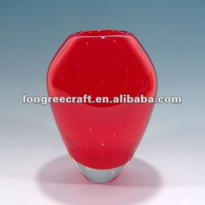 Wedding Centerpiece Decor Fabulous Red Vase