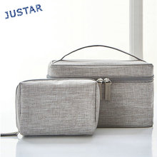 Low Price Waterproof Canvas Travel Make Up Beauty Bag Ladies Custom Professional Cosmetic Makeup Vanity Case