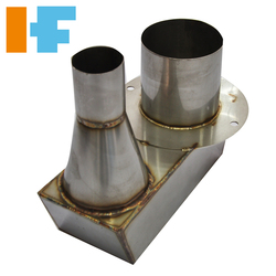 Nut threaded inserts sheet metal press molds