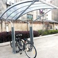 popular bike shelter with powder coated
