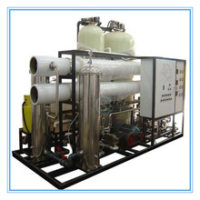 2017 mobile salt water RO treatment to drinking water machine