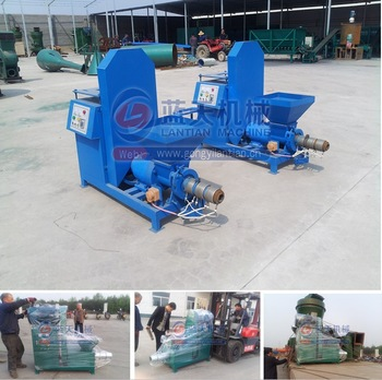 China supplier factory price biomass log making machine sawdust briquette charcoal machine