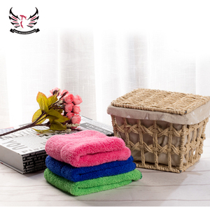 40cmx40cm Microfiber terry hand towels for cleaning