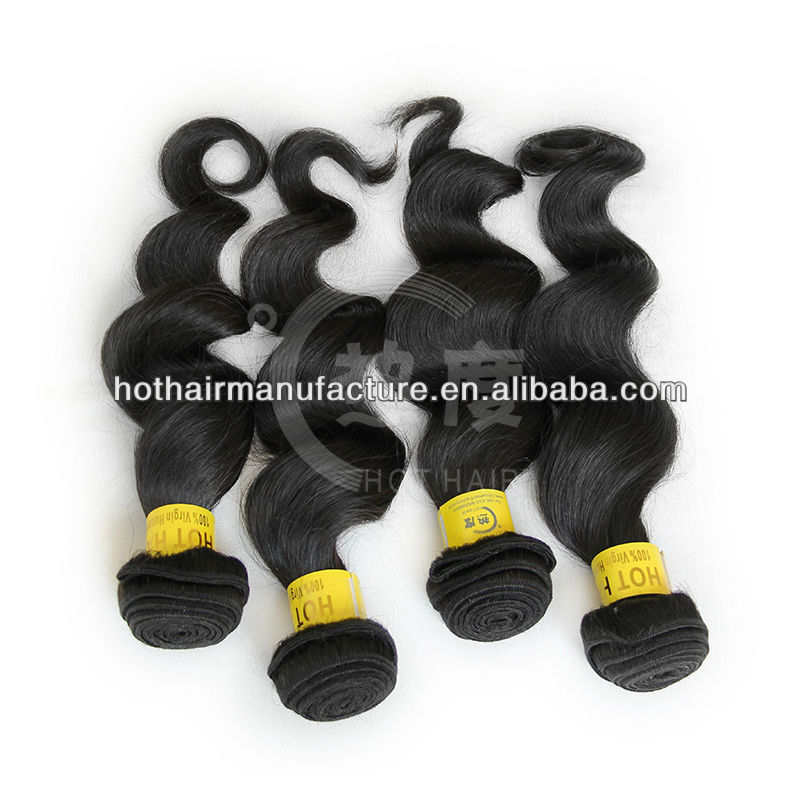 5a fashion designed loose deep wave weave hair styles of brazilian hair