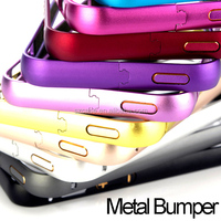Best Cheap Bumper for iPhone 5 Aluminum bumper case for iphone 5s cover
