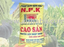 High Yield N.P.K compound fertilizer