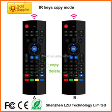 New arrival multifunction 2.4GHz Air Mouse MX3 Mini fly mouse Wireless Keyboard & Infrared Remote Control & 3-Gyro + 3-