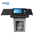 Focus S700 digital display stand lectern podium