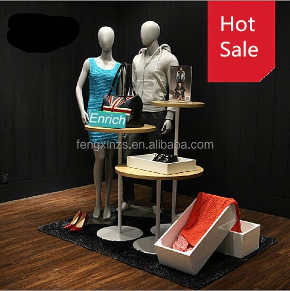The new style equipment for shoe store,handbag stands,display table