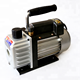mini battery rotary vane single stage vacuum pump 2.6cfm 1/6HP for air conditioning repairing /car