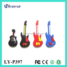 Lover Guitar usb 1.0 128mb to 512gb flash drive bulk pen drive for your gift free logo