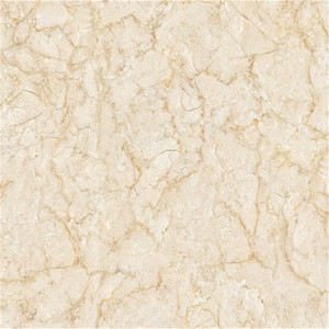 Building Material Interior Polished Beige Marble Villa Flooring Tile 60x60 Price