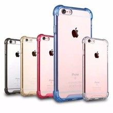 For iPhone 6 Case,shockproof for iphone6 6s crystal hard TPU+PC mobile phone skin cover